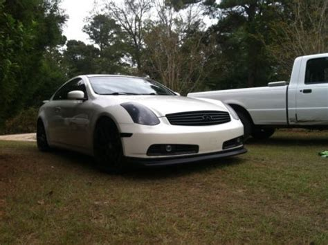 infiniti g35 stats sell used 2003 infiniti g35 coupe sport in gaston south