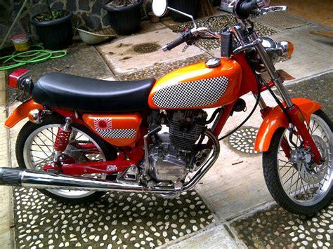 Suku Cadang Honda Gl Pro kumpulan foto modifikasi motor honda gl pro terbaru