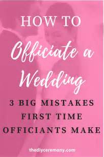 Wedding Ceremony How To by Best 25 Wedding Officiant Ideas On Wedding