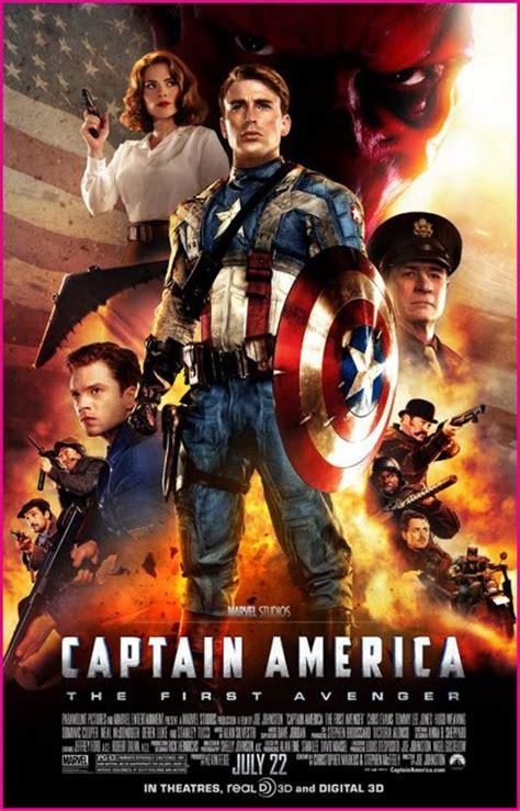 film captain america marvel captain america the first avenger marvel movie poster we