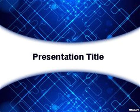 modern technology powerpoint template