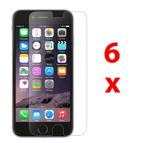 Screen Guard Iphone 6 Plus 6x clear lcd screen protector guard cover for apple iphone