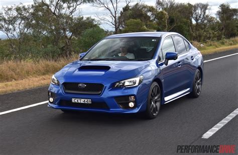 subaru wrx cvt 2016 subaru wrx review manual cvt auto video