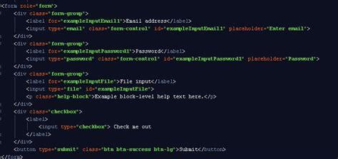 membuat web menggunakan bootstrap membuat form input data menggunakan css bootstrap