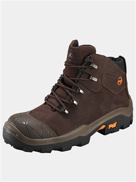 timberland boots mens timberland snyders mens safety boots in brown for lyst