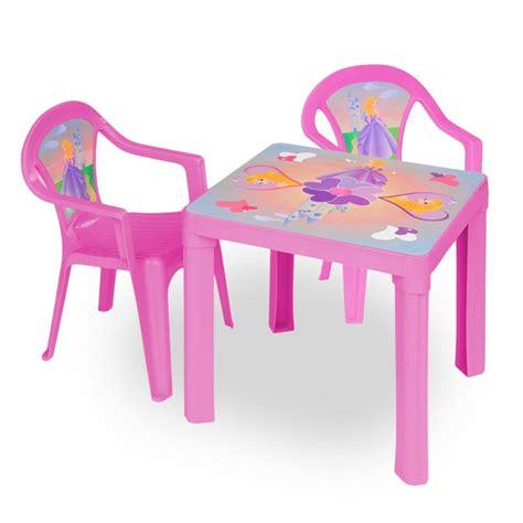 kinder tisch stuhl kinder sitzgruppe tisch mit 2 st 252 hlen kindertisch