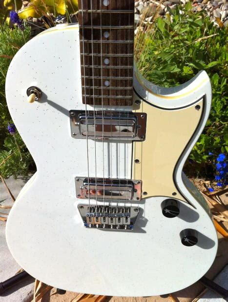 new white sparkle telestar w in guitar by j t riboloff reverb