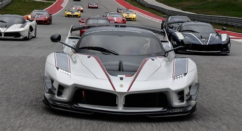 Laferrari Fxx Evo by Fxx K Evo Hits The Track For The Time In