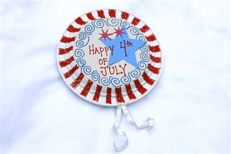 4th Of July Paper Crafts - family go arts n craft