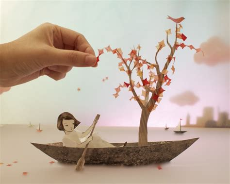 paper craft 3d whimsical 3d papercraft