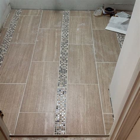 bathroom floor tile design 12x24 tile small bathroom tile design ideas