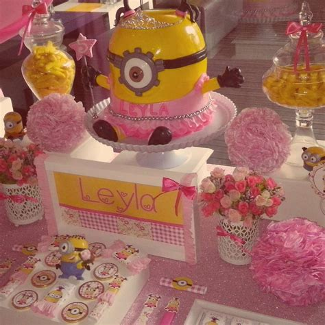 themes for girl bday parties minion girl birthday party ideas photo 3 of 6 catch my