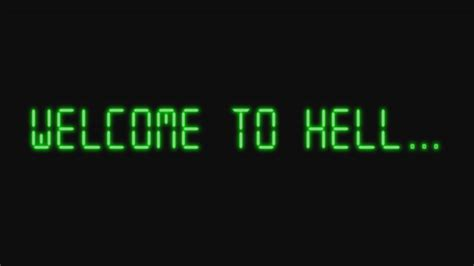 full hd video welcome back full hd welcome to hell wallpaper 1920x1080 by benbanc