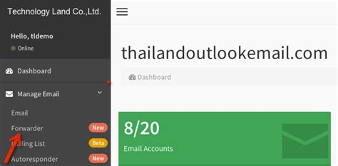 auto forwarder technology land co ltd gocloud admin ว ธ การต งค า