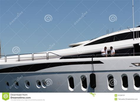 yacht in french luxury yacht in french riviera editorial photo image