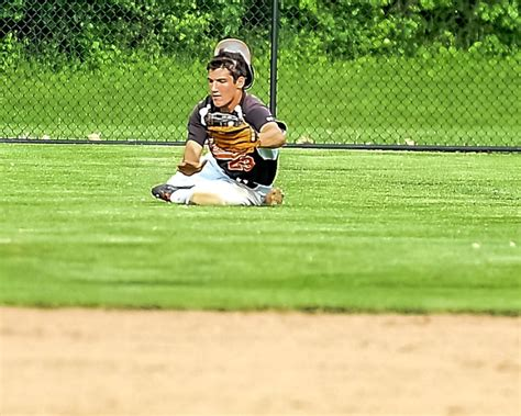 section 6 baseball cam voss shines nolan hunt dominates in section vi