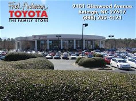 Toyota Dealership Raleigh Fred Toyota Car Dealership In Raleigh Nc 27617