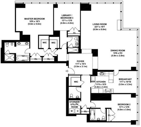new york condo floor plans one beacon court 151 east 58th street midtown east