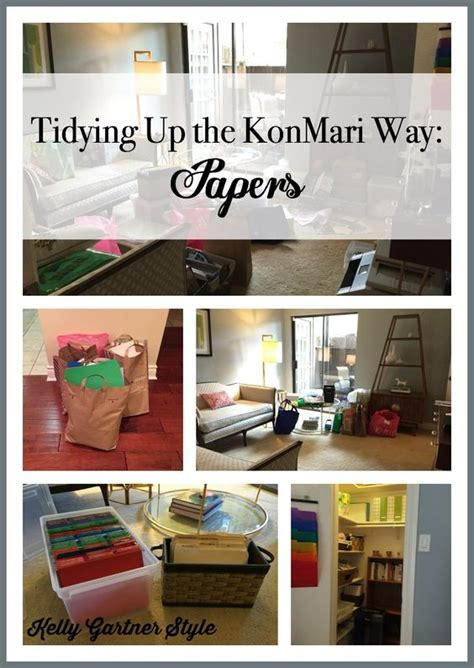 tidying up the konmari way papers is your paper clutter