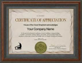 sponsorship certificate template doc 578443 certificate of appreciation exles 30