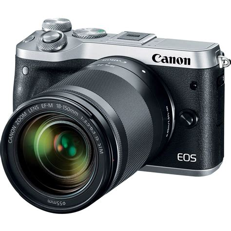 mirrorless canon canon eos m6 mirrorless digital with 18 150mm 1725c021