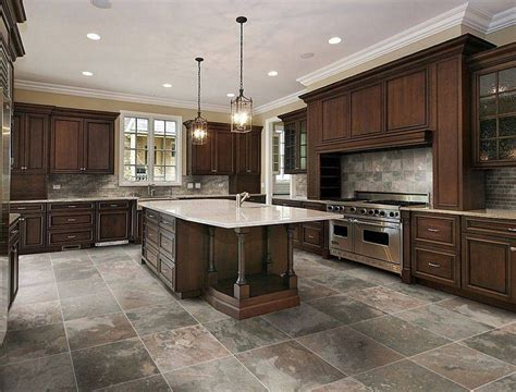 Flooring Ideas Kitchen 20 Best Kitchen Tile Floor Ideas For Your Home Theydesign Net Theydesign Net