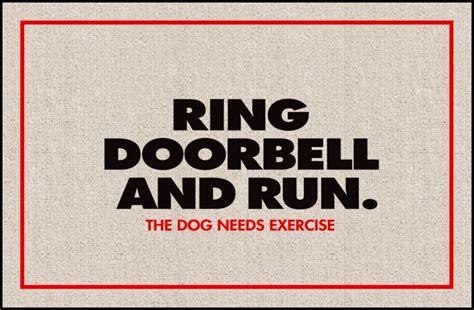 doormat funny funny doormats dog needs exercise coco mats n more