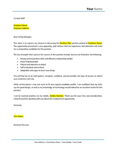 cover letter career change template no experience cover letter sles career change cover