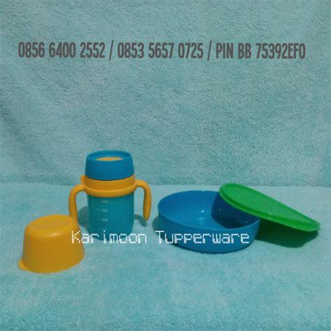 Paket Tiwi Todz Kidz Tupperware baby set karimoon tupperware