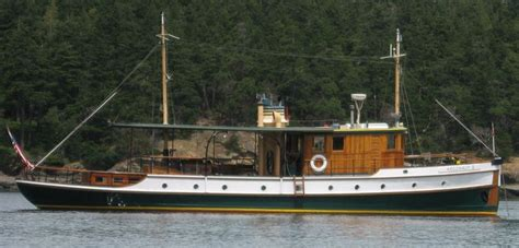 motor boats for sale classic wooden motor sailers liveaboard boats for sale