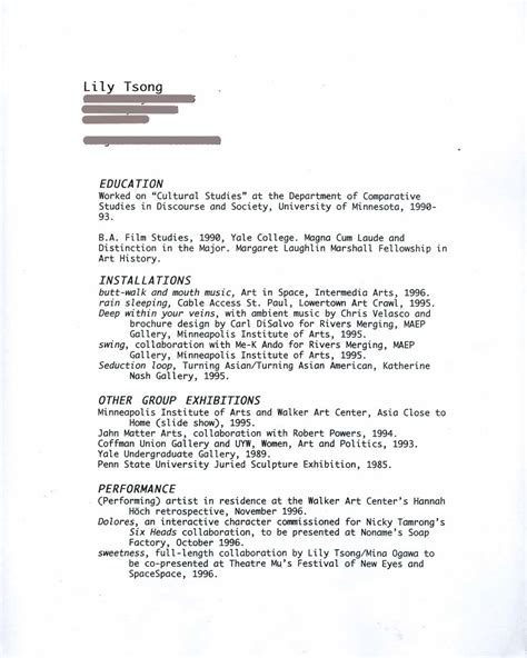 cv american style format of resumes excellent resume exles 2015
