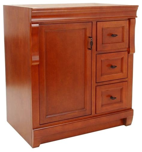 bathroom vanities naples fl naples 30 quot vanity cabinet only in warm cinnamon