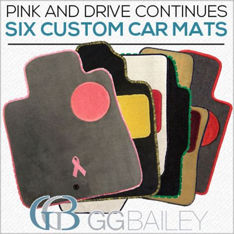 Car Floor Mats With Designs by Pink And Drive 6 Custom Car Floor Mats Designs