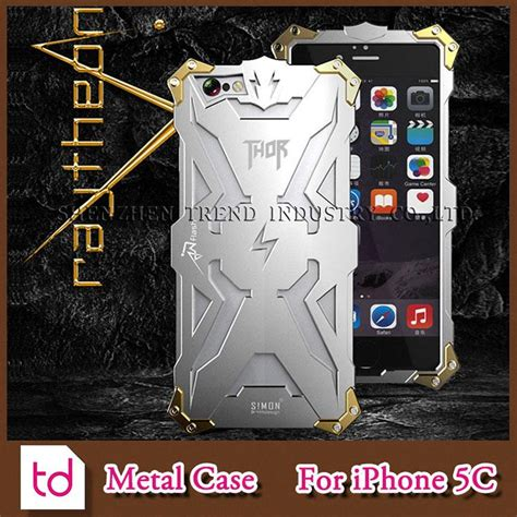 Robot Iron New Generation Iphone 6 Back Casing for iphone 5c simon thor iron metal aluminum cases cool transformers robot shockproof