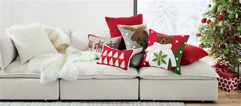 throw blankets and sofa pillows on sale now crate and barrel