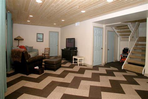 basement carpet tiles rooms