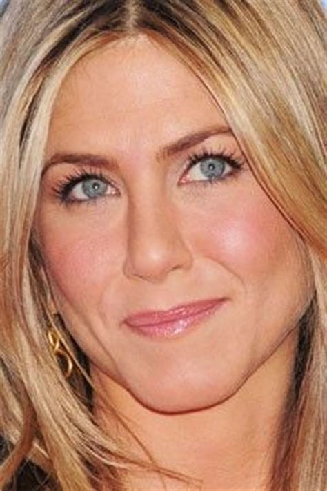 aniston eye color aniston s blue pop with