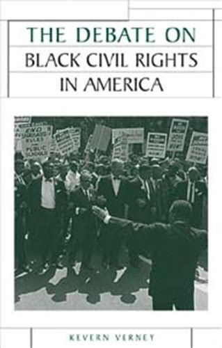 the debate on black manchester university press the debate on black civil rights in america