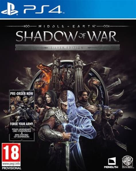 Dijamin Middle Earth Shadow Of War Ps4 middle earth shadow of war silver edition ps4 playstation 4 gt playstation