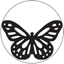 monarch butterfly stencil clipart best