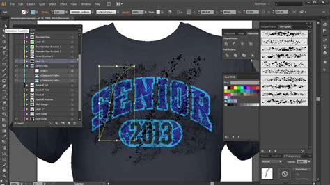 design t shirt adobe illustrator illustrator brushes for distress and grunge tshirt design