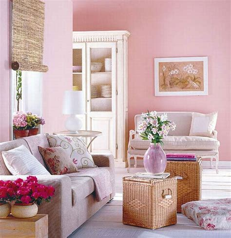 rose home decor colorful living room interior design ideas