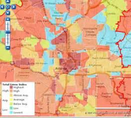 Atlanta Crime Map by Atlanta Crime Map Flickr Photo Sharing