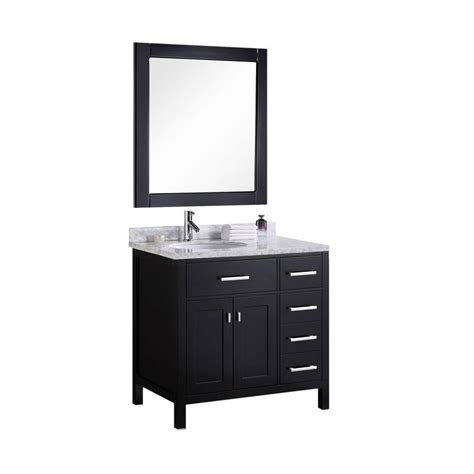 36 X 22 Vanity Top by Design Element 36 In W X 22 In D Vanity In