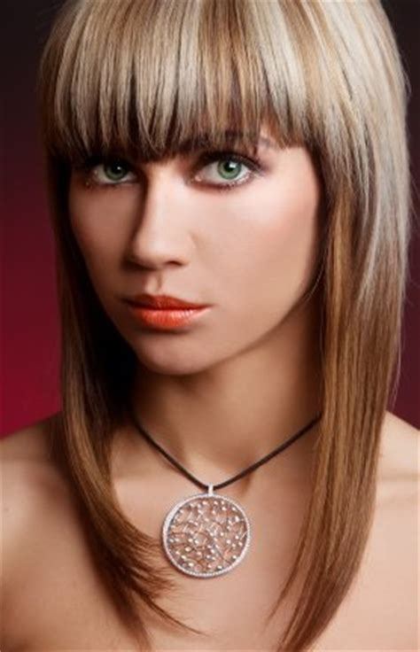 bangs for skinny long face hairstyle with bangs for narrow face