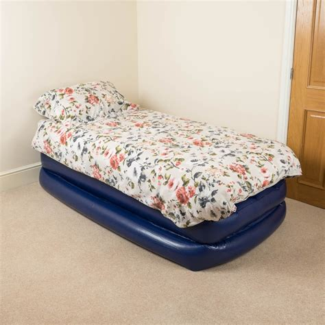 single air bed raised mattress high rise airbed bag restform 644812001932 ebay