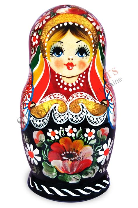 How To Keep Your House Clean All The Time by Russian Matryoshka Nesting Dolls Flowers 31 03