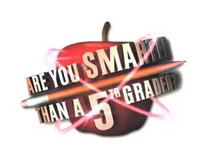 Are You Smarter Than A 5th Grader Template by Are You Smarter Than A 5th Grader By One Three Television
