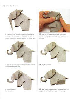 Step By Step Origami Elephant - teddy origami tutorial origami