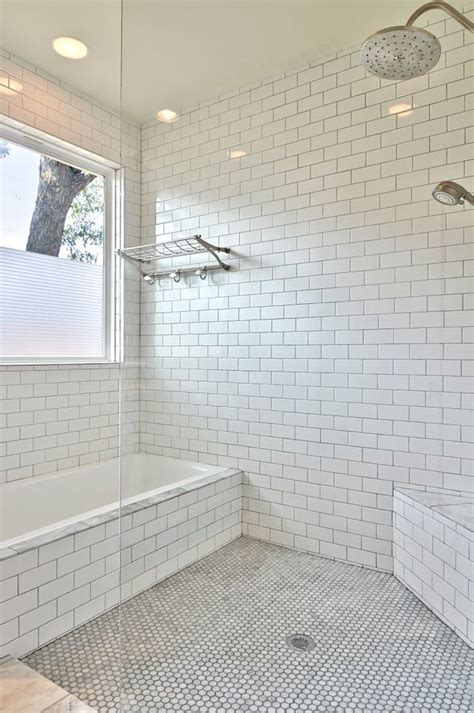 austin epoxy tile grout bathroom transitional with large